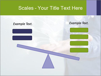 Hand pressing PowerPoint Templates - Slide 89