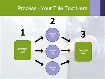 Hand pressing PowerPoint Templates - Slide 92