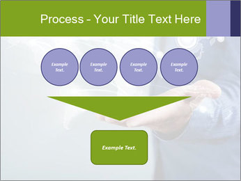 Hand pressing PowerPoint Templates - Slide 93