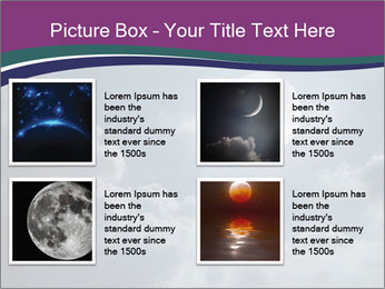 Night sky PowerPoint Templates - Slide 14
