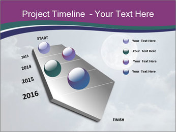 Night sky PowerPoint Templates - Slide 26