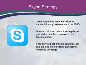 Night sky PowerPoint Templates - Slide 8