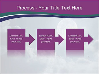 Night sky PowerPoint Templates - Slide 88