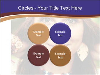 Smiling beautiful girl PowerPoint Template - Slide 38