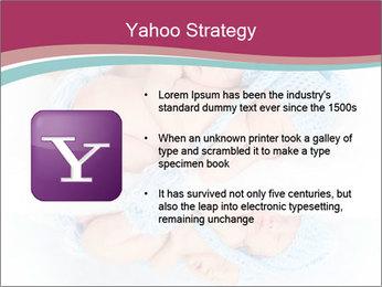 Newborn twins PowerPoint Template - Slide 11