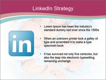 Newborn twins PowerPoint Template - Slide 12