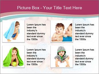 Newborn twins PowerPoint Template - Slide 14