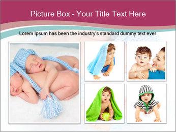 Newborn twins PowerPoint Template - Slide 19