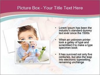 Newborn twins PowerPoint Template - Slide 20