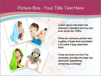 Newborn twins PowerPoint Template - Slide 23