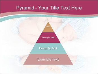 Newborn twins PowerPoint Template - Slide 30