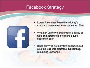 Newborn twins PowerPoint Template - Slide 6