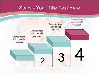Newborn twins PowerPoint Template - Slide 64