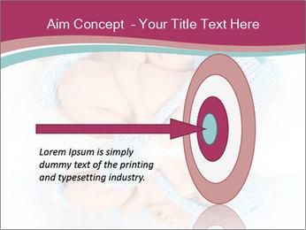 Newborn twins PowerPoint Template - Slide 83
