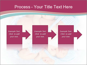 Newborn twins PowerPoint Template - Slide 88