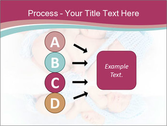 Newborn twins PowerPoint Template - Slide 94