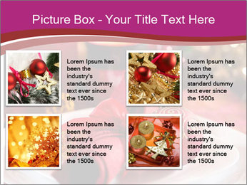 Christmas Table PowerPoint Template - Slide 14