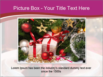 Christmas Table PowerPoint Template - Slide 16