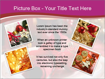 Christmas Table PowerPoint Template - Slide 24