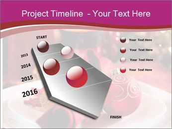 Christmas Table PowerPoint Template - Slide 26