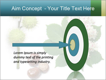 Horse-chestnut PowerPoint Templates - Slide 83