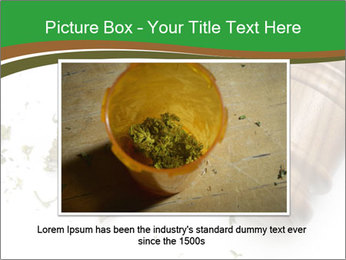 Marijuana PowerPoint Template - Slide 15