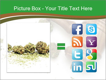Marijuana PowerPoint Templates - Slide 21