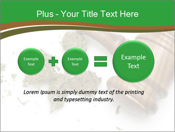 Marijuana PowerPoint Template - Slide 75