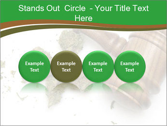 Marijuana PowerPoint Templates - Slide 76