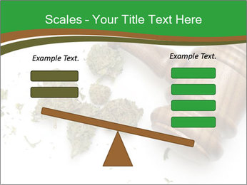 Marijuana PowerPoint Template - Slide 89