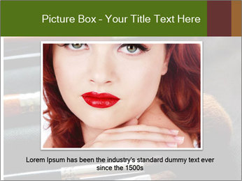 Make-up brushes PowerPoint Templates - Slide 15
