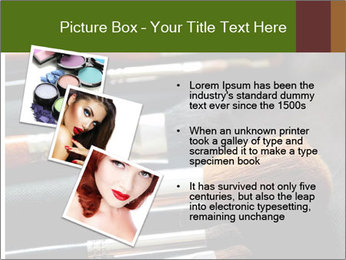 Make-up brushes PowerPoint Templates - Slide 17
