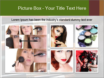 Make-up brushes PowerPoint Templates - Slide 19