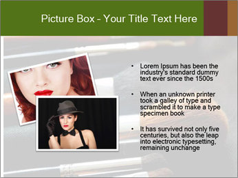 Make-up brushes PowerPoint Templates - Slide 20