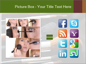 Make-up brushes PowerPoint Templates - Slide 21