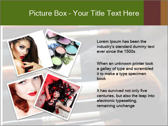 Make-up brushes PowerPoint Templates - Slide 23