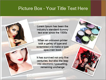 Make-up brushes PowerPoint Templates - Slide 24