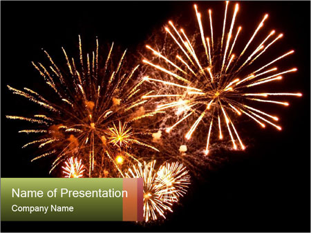 Fireworks PowerPoint Templates