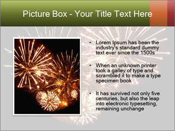 Fireworks PowerPoint Template - Slide 13