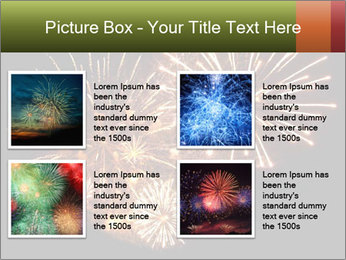 Fireworks PowerPoint Template - Slide 14