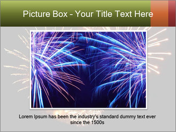 Fireworks PowerPoint Template - Slide 15