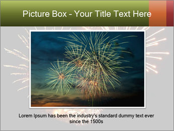 Fireworks PowerPoint Template - Slide 16