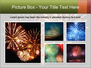 Fireworks PowerPoint Template - Slide 19