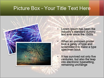 Fireworks PowerPoint Template - Slide 20