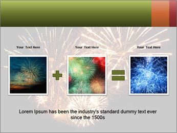 Fireworks PowerPoint Template - Slide 22