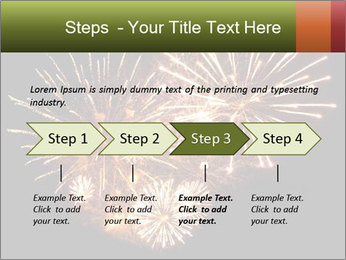 Fireworks PowerPoint Template - Slide 4