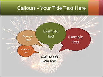 Fireworks PowerPoint Template - Slide 73