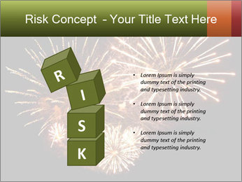 Fireworks PowerPoint Template - Slide 81