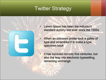 Fireworks PowerPoint Template - Slide 9