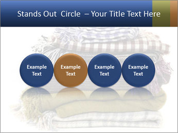 Warm plaids PowerPoint Templates - Slide 76